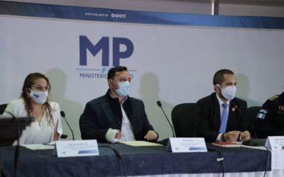 MP afirma que hechos delictivos, entre ellos secuestros, no han aumentado
