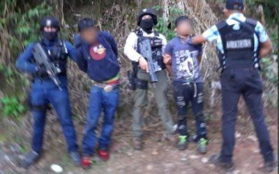 Liberan a joven de 18 años y capturan a dos presuntos secuestradores