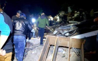 Tragedia en San Marcos la Laguna, roca arrasó con varias viviendas y dejó personas soterradas