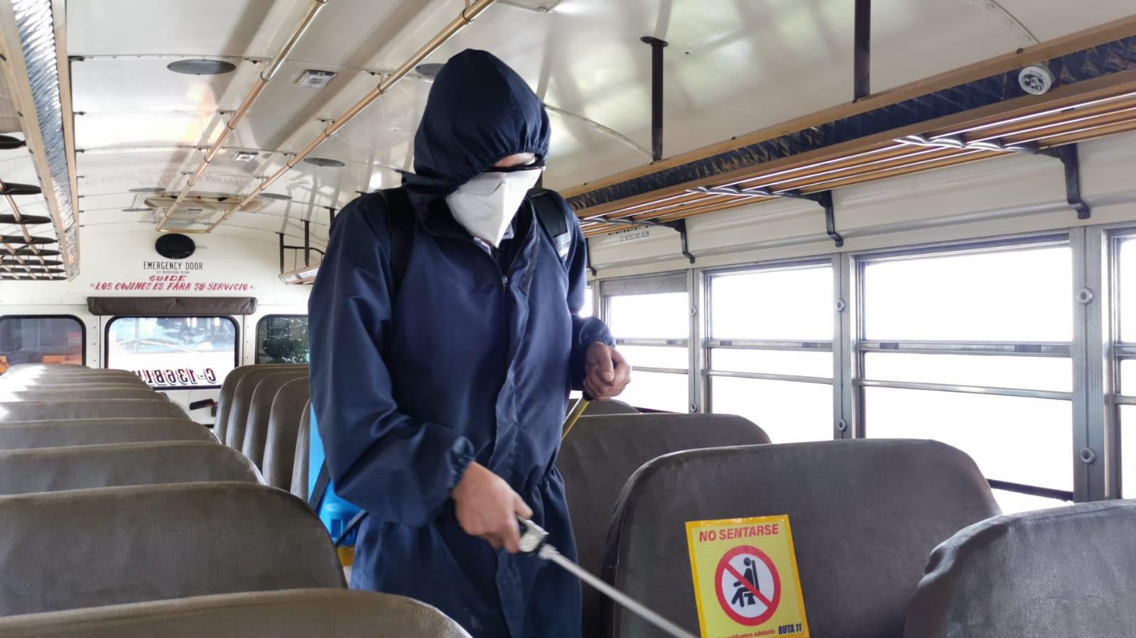 Transporte extraurbano en Quetzaltenango cumple dos semanas de ensayos de reactivación