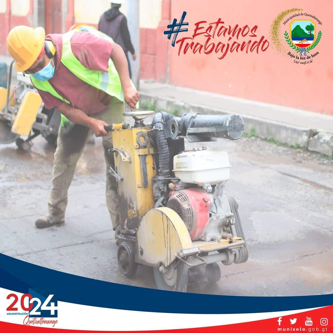 Puntos donde la Municipalidad de Quetzaltenango, coordinará trabajos de mejoramiento vial, este sábado