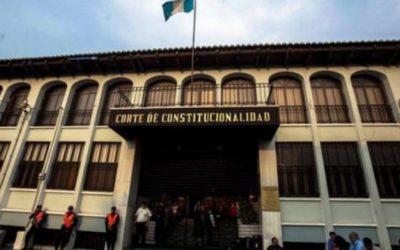 Mañana conocerá la Corte de Constitucionalidad los amparos por el Presupuesto 2021