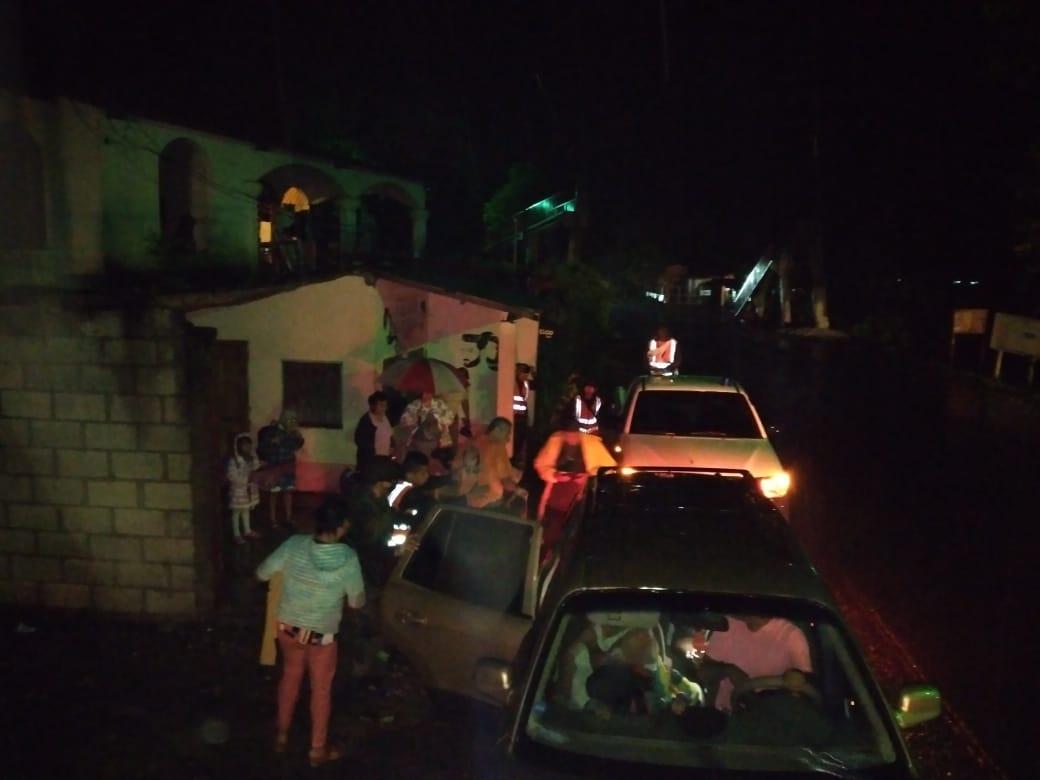 Iota en Guatemala: Incrementa aún más el nivel del Río Motagua, CONRED evacúa a varias familias esta noche