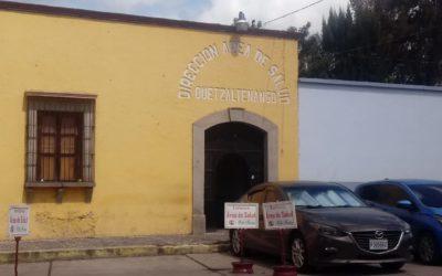 Área de Salud de Quetzaltenango reporta incremento de enfermedades como diarrea y resfriados