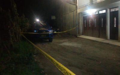 Hombre disparó en el interior de vivienda ubicada en la zona 8 de Xela, provocó la muerte de joven de 20 años