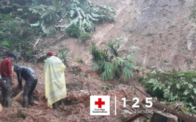 Tragedia en Baja Verapaz: 9 personas soterradas, confirman de momento dos muertes