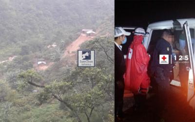 Actualización: Más fallecidos tras deslizamiento ocurrido en Baja Verapaz, tras el paso de Iota