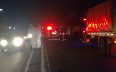 Bomberos  creen que exceso de velocidad es la principal causa de aumento de accidentes en La Esperanza
