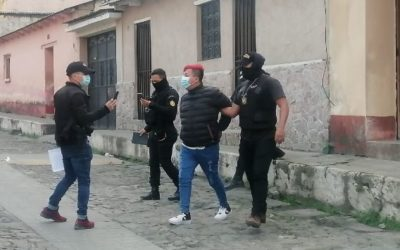 Arrestan a siete personas en Quetzaltenango por casos de extorsión
