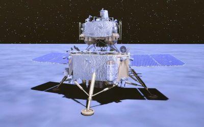 Sonda china Chang'e 5 ha alunizado este 01 de diciembre,  traerá primeras muestras de la Luna en 44 años
