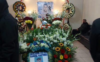 Despiden a joven que falleció el lunes reciente en el sector de El Tinajón, Quetzaltenango