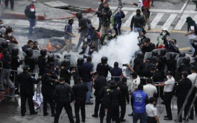 Mingob gastó más de Q13 millones solo en bombas lacrimógenas y de humo