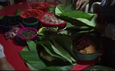 Más de 20 años en elaboración de tamales de arroz en Xela