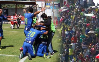 Los murciélagos se olvidan del COVID-19 y celebran pase a la final en la Primera División, enfrentarán a Aurora FC