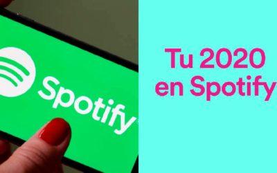 Así sonó el año en Spotify, descubre tu 2020