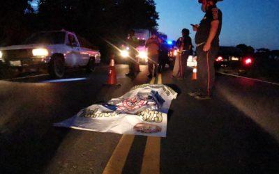 Suchitepéquez: Menor de 13 años pierde la vida tras ser atropellado en la ruta CA-2 Occidente