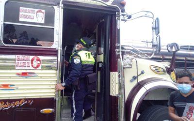 PMTQ acciona este sábado en Xela, contra pilotos de buses que incumplen requerimientos