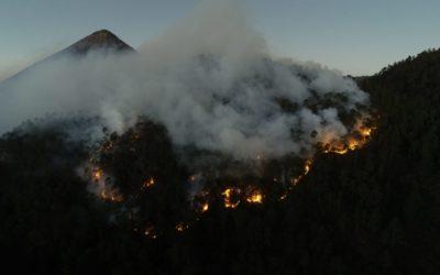 90 hectáreas de bosques se quemaron este año en Quetzaltenango