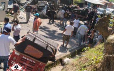 Trágico accidente de tránsito en San Marcos