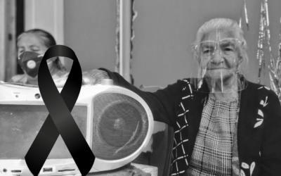 Muere fiel oyente de Stereo 100 que en noviembre pasado celebró 100 años de vida
