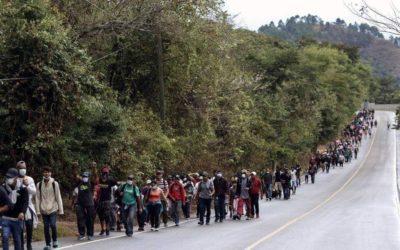 Guatemala se pronuncia mientras hondureños avanzan por su territorio