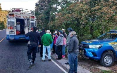 San Marcos: Piloto capturado y bus al predio, por no respetar protocolo sanitario
