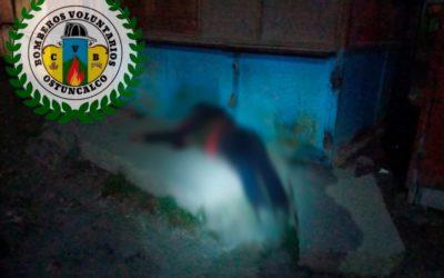 Encuentran a hombre fallecido en la terminal de San Juan Ostuncalco
