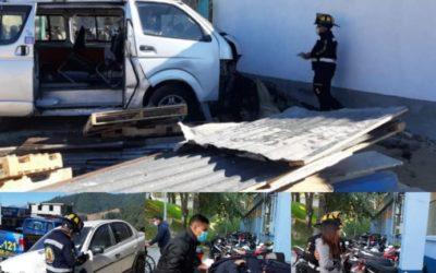 Accidente de tránsito en la ruta Interamericana deja 14 heridos