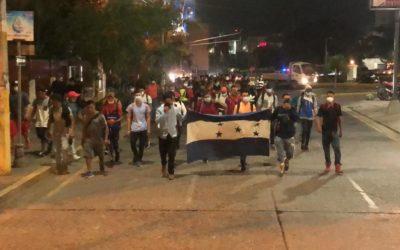 Estado de Prevención en departamentos de Guatemala por caravana de migrantes