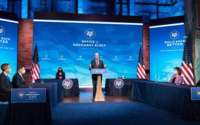 Pandemia y seguridad: ¿Cómo será la investidura de Joe Biden?