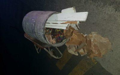 Llevaban cadáver de mujer en el interior de barril que transportaban con carreta