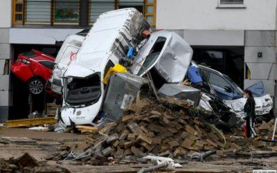 Tormentas de los últimos días en Europa Occidental han provocado muertes y serios daños