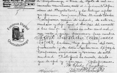 Hace 100 años nació Mario Camposeco. Desde trabajador de la empresa eléctrica hasta jugador histórico de un país