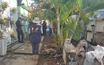 MP busca en Mazatenango a Cristina Siekavizza
