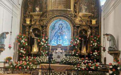 Delimitan áreas para venerar a imagen de la Virgen del Rosario