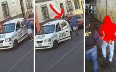 Hombre señalado de violación habría usado un taxi para llevar a su víctima y luego abandonarla en la vía publica