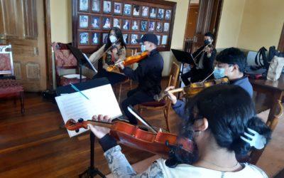 Orquesta Municipal de Quetzaltenango se prepara para conciertos virtuales