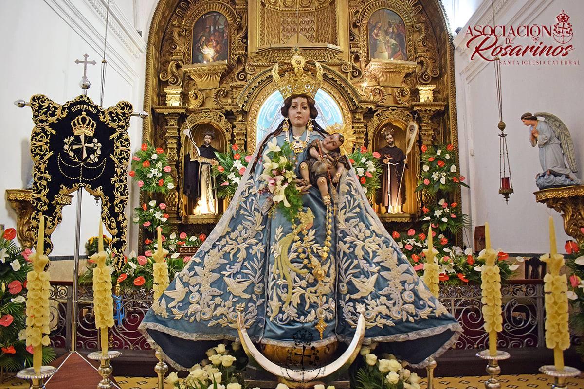 Día de la Virgen del Rosario: Significado del ajuar que porta la imagen de Catedral Quetzaltenango