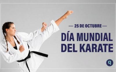 El 25 de octubre se celebra el Día Mundial del Karate