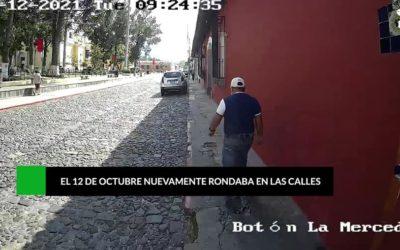 (((Vídeo))) Un robacarros fue capturado gracias a cámaras de seguridad en Antigua Guatemala