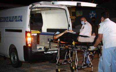 Cuatro policías heridos de bala en El Estor son trasladados al hospitalito de PNC