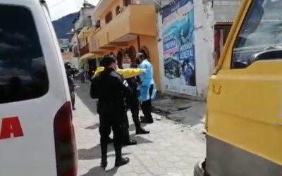 Asesinan a cuatro personas en la zona 2 de Quetzaltenango