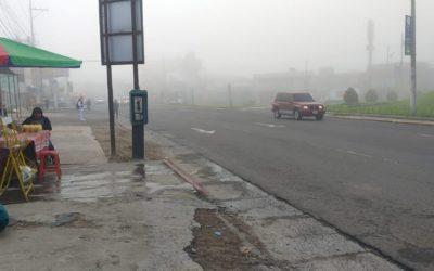 (((Vídeos))) Niebla densa en Xela