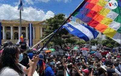 El Salvador: Sindicatos y activistas prometen continuar protestas contra el Gobierno