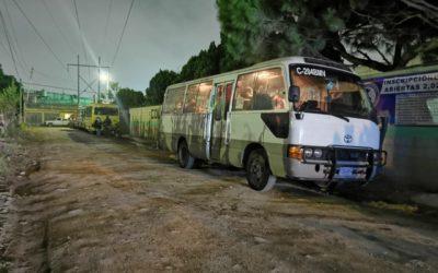 Cocode de la zona 7 de Xela pide a vecinos pagar Q1.25 de pasaje