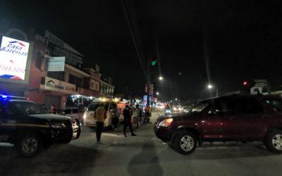 Accidente en Avenida La Independencia deja dos personas heridas