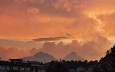 GALERÍA | Espectacular atardecer de este martes 26 de octubre en Quetzaltenango